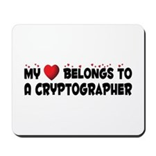 Belongs To A Cryptographer Mousepad