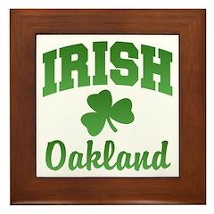 Oakland Irish Framed Tile