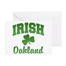 Oakland Irish Greeting Card