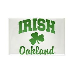Oakland Irish Rectangle Magnet
