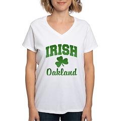Oakland Irish Women's V-Neck T-Shirt