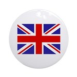 British Flag Keepsake (Round)