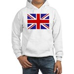 British Flag Hooded Sweatshirt