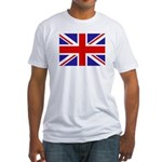 British Flag Fitted T-Shirt