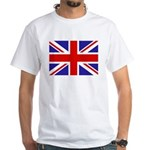 British Flag White T-Shirt