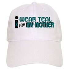 I Wear Teal For My Mother 7.1 Baseball Cap