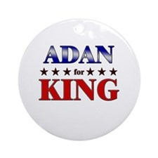 ADAN for king Ornament (Round)