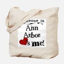 Ann Arbor Loves Me Tote Bag