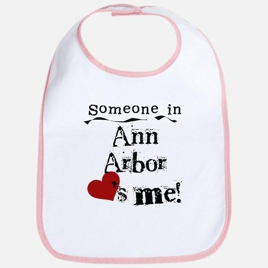 Ann Arbor Loves Me Bib