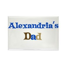 Alexandria's Dad Rectangle Magnet