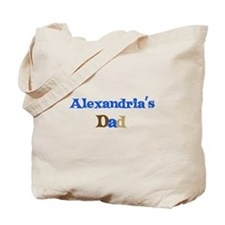 Alexandria's Dad Tote Bag