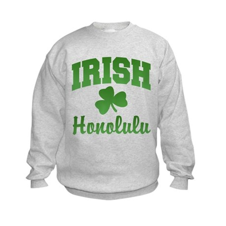Honolulu Irish Kids Sweatshirt
