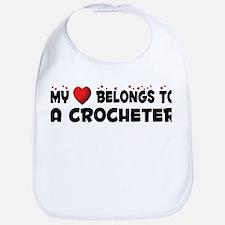 Belongs To A Crocheter Bib