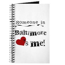 Baltimore Loves Me Journal