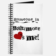 Baltimore Loves Me Journal