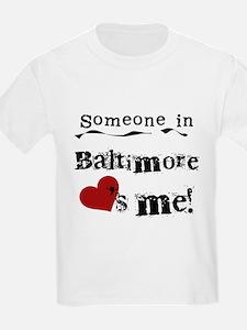 Baltimore Loves Me T-Shirt