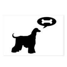 Afghan Hound Treat Postcards (Package of 8)