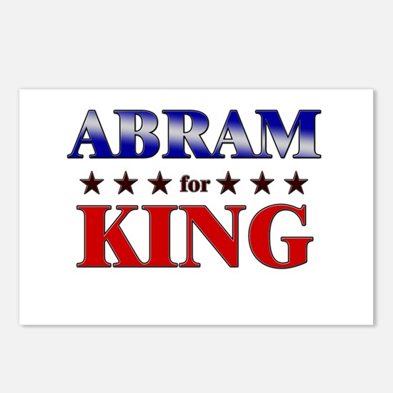 ABRAM for king Postcards (Package of 8)