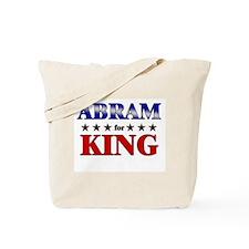 ABRAM for king Tote Bag