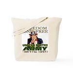 U.S. Army Freedom Isn't Free Tote Bag