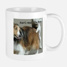 Didn't Read the Bible dogs humping Mug