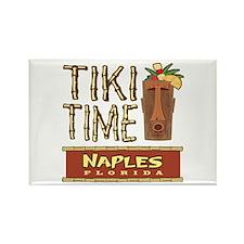 Naples Tiki Time - Rectangle Magnet