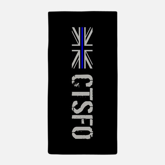 British Police: CTSFO Beach Towel