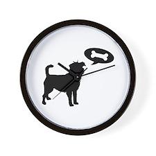 Affenpinscher Treat Wall Clock