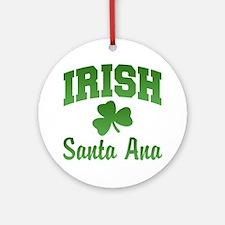 Santa Ana Irish Ornament (Round)