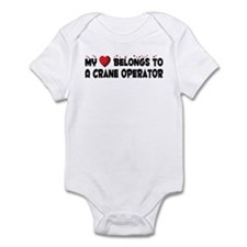 Belongs To A Crane Operator Infant Bodysuit