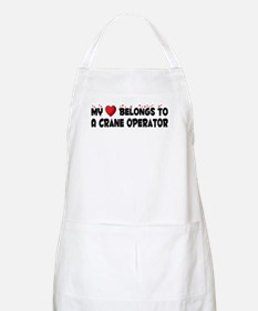 Belongs To A Crane Operator BBQ Apron