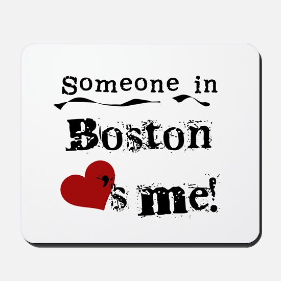 Boston Loves Me Mousepad