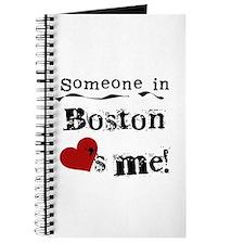 Boston Loves Me Journal