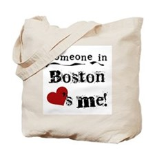 Boston Loves Me Tote Bag