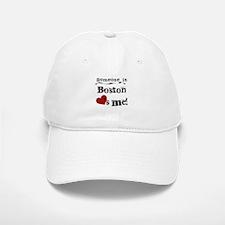 Boston Loves Me Baseball Baseball Cap