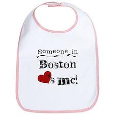 Boston Loves Me Bib