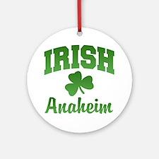 Anaheim Irish Ornament (Round)