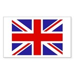 British Flag Rectangle Sticker