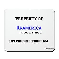 Kramerica Internship Program Mousepad