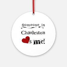 Charleston Loves Me Ornament (Round)