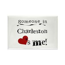 Charleston Loves Me Rectangle Magnet