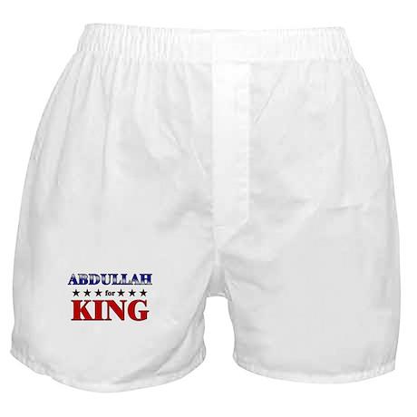 ABDULLAH for king Boxer Shorts