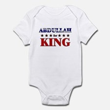 ABDULLAH for king Infant Bodysuit
