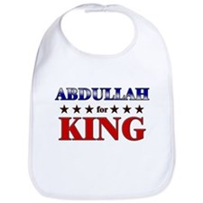 ABDULLAH for king Bib