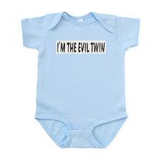 I'm The Evil Twin Infant Creeper