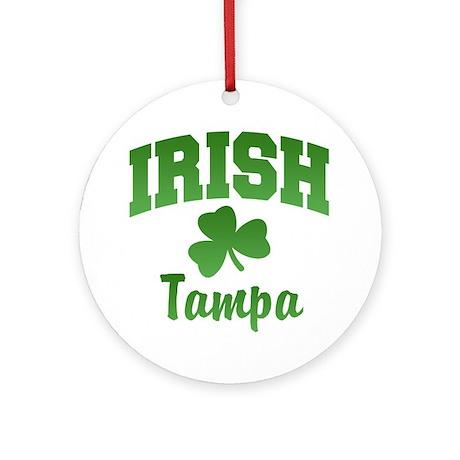 Tampa Irish Ornament (Round)