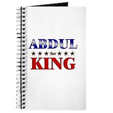ABDUL for king Journal