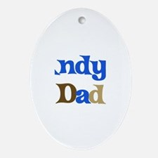 Andy's Dad Oval Ornament
