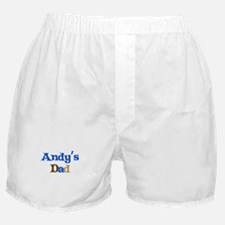 Andy's Dad Boxer Shorts