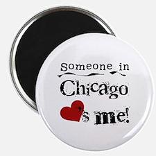 Chicago Loves Me Magnet